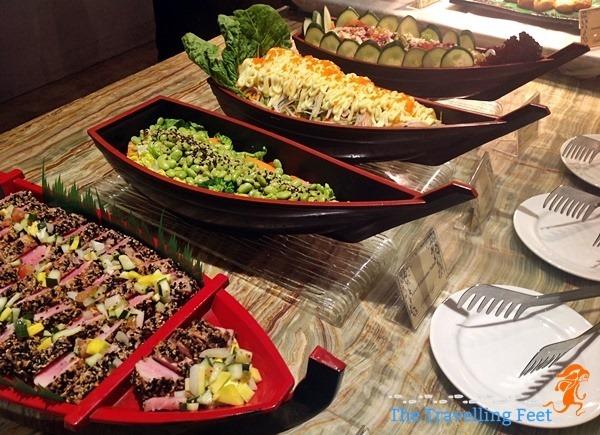 Japanese boat - Garden Cafe restaurant