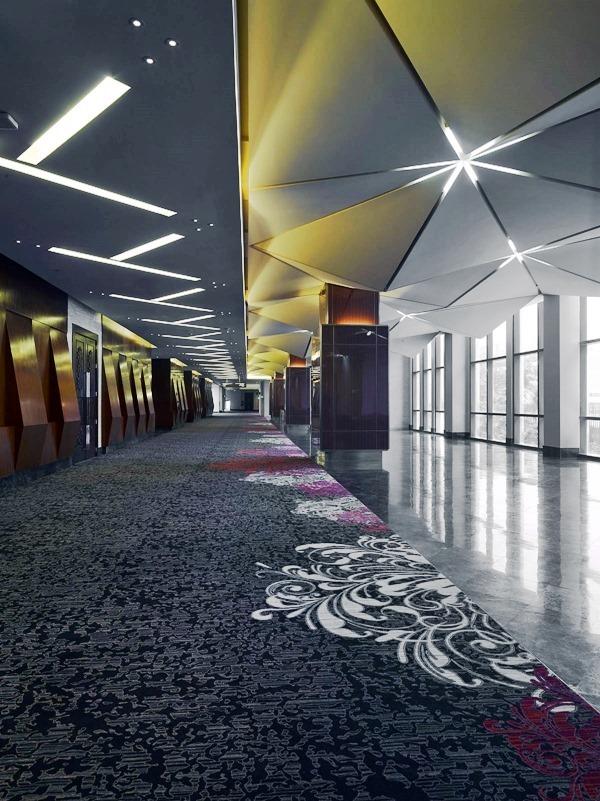 opulent Grand Ballroom foyer
