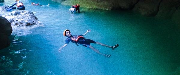 kasawan canyoneering
