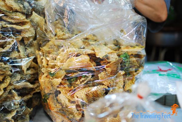 crispy fried catfish skin