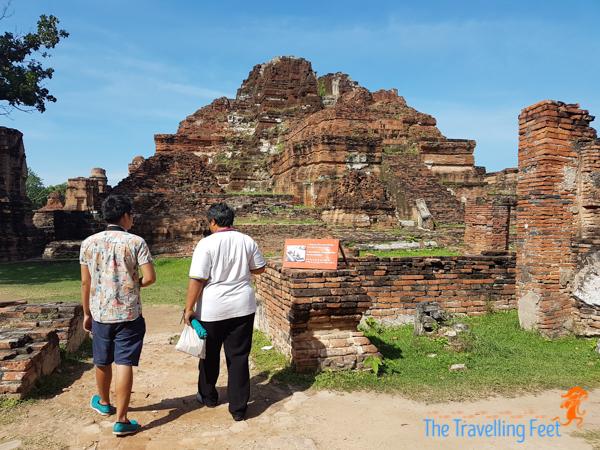 exploring Ayuthaya world historical site