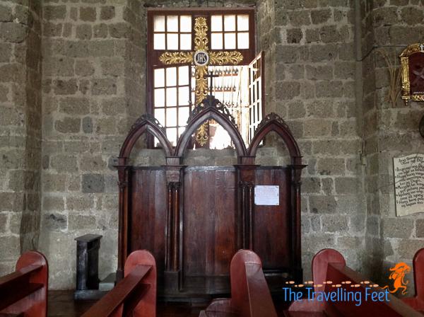 confession booth magdalena church laguna