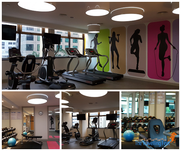 fitness center at holiday inn express kuala lumpur city centre