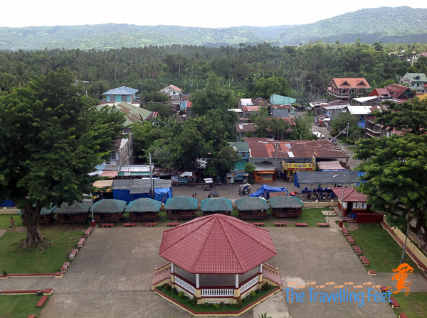 magdalena town birds eye view