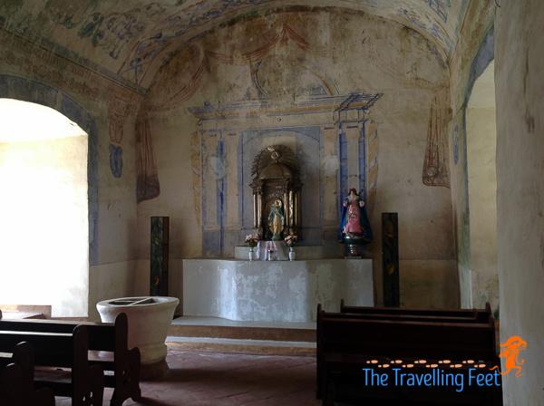 one of the prayer rooms at magdalena laguna