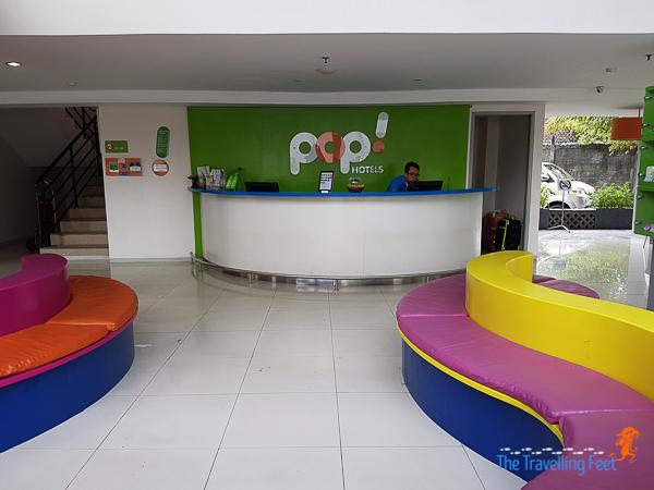 pop hotel lobby in bali