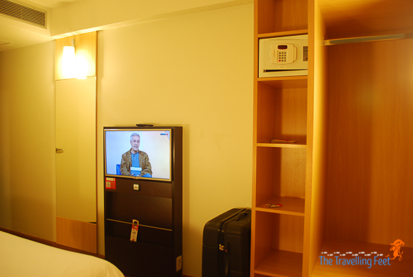flat screen tv inside the room
