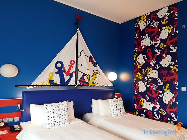 Hello Kitty Sailboat Room