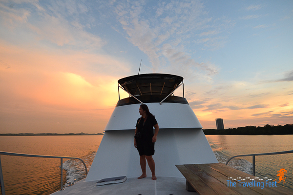 enjoy a sunset cruise with the Black Pearl