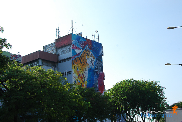 murals and wall paintings abound in Johor Bahru