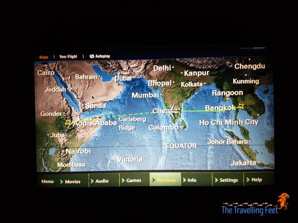 02 Bangkok to Addis Ababa via Ethiopian Airlines