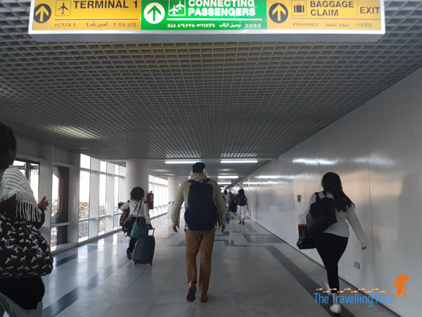 3-hr layover at Addis Ababa in Ethiopia