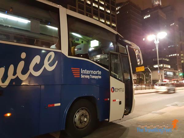 Airport bus Sao Paulo GRU