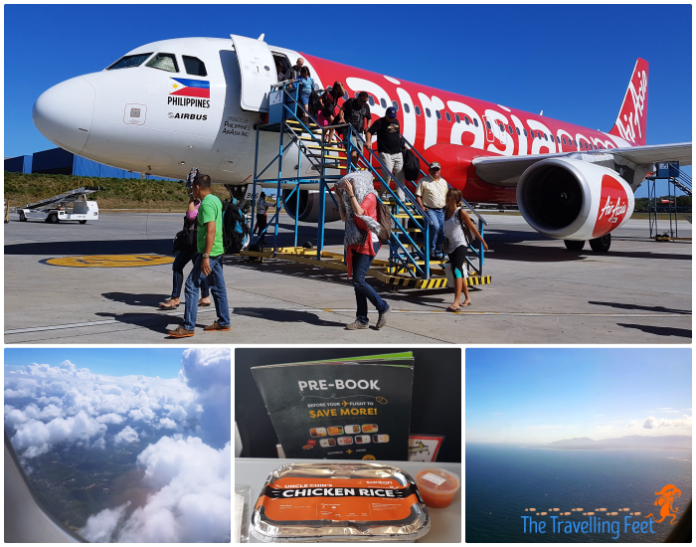 AirAsia flight Cebu to Palawan