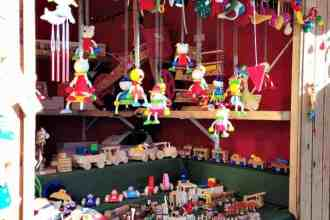 Six Festive and Family-Friendly Christmas events in Vancouver. Whimsical Christmas ornaments at the Vancouver Christmas Market | thetravellingmom.ca
