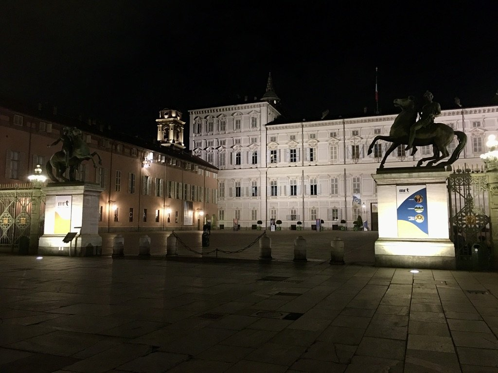 Facciata di Palazzo Reale