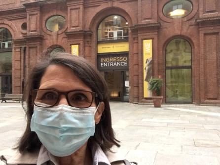 entrata museo egizio di Torino