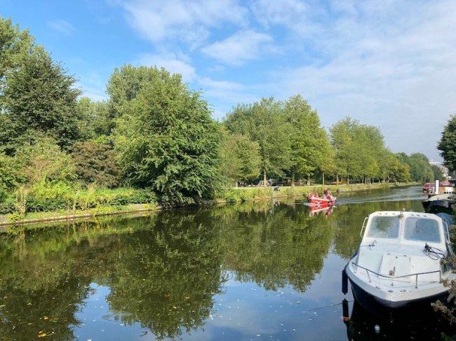 veduta del westen canal