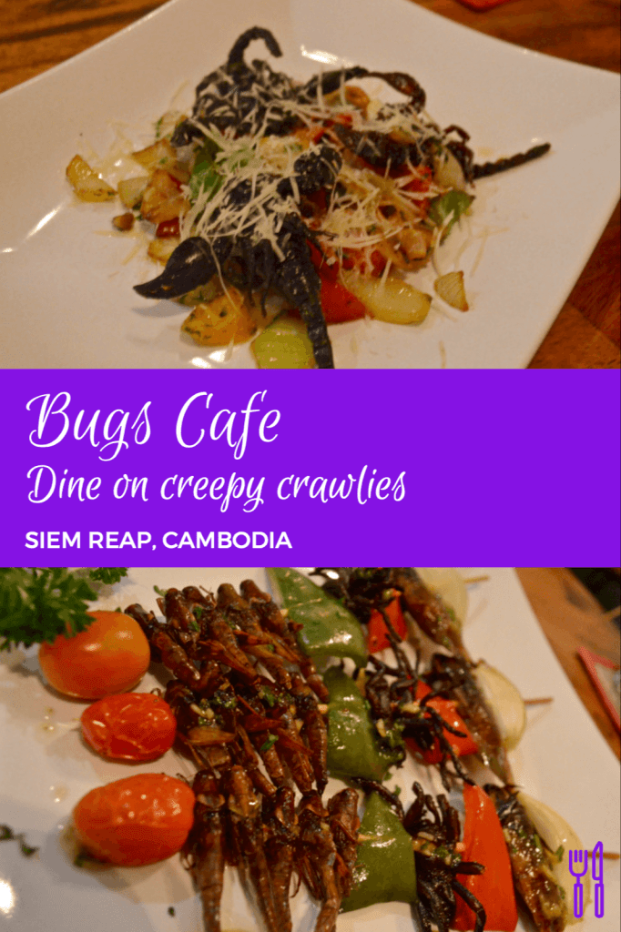 DINING ON CREEPY CRAWLIES AT THE BUGS CAFE