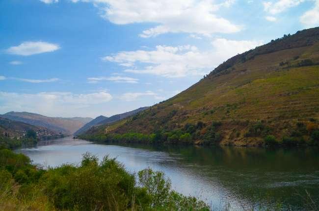 Landscape view of the Douro Valley, Porto, Portugal