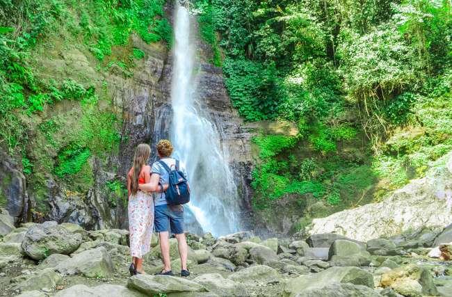 Bali Golden Tour - Gitgit waterfall in Northern Bali, Indonesia