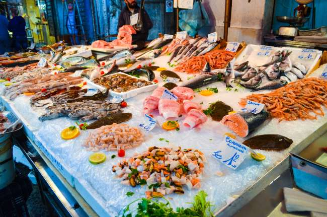 Palermo street food tour with Streaty - Fish market