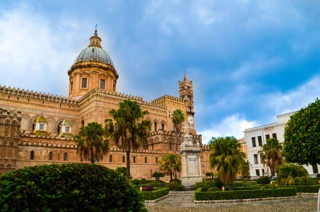 Palermo street food tour with Streaty - Palermo cathedral