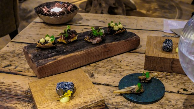 Dining at the Forest Side, Grasmere, Cumbria - Amuse Bouches