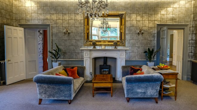 Staying at the Forest Side, Grasmere, Cumbria - Lounge and Bar area