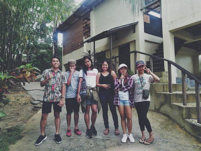 With Ms. Venus at Villa Maya Brgy Catangnan, General Luna Siargao