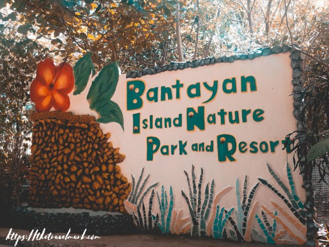 Bantayan Island Nature Park Resort - Entrance