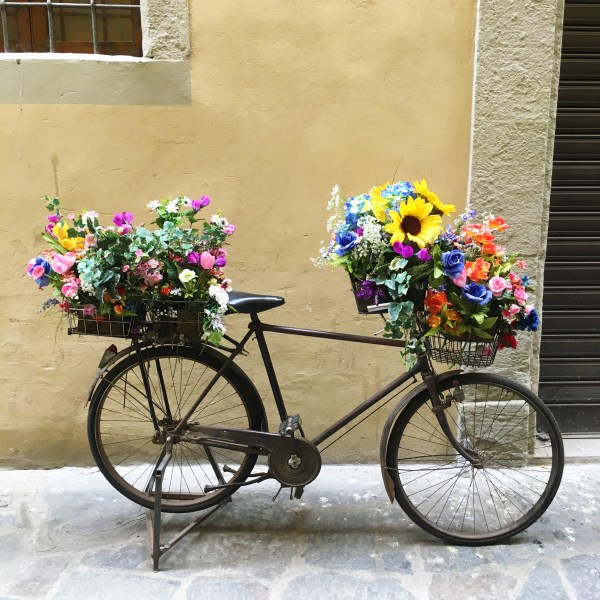 Flower bicycle | Florence | The Travel Medley