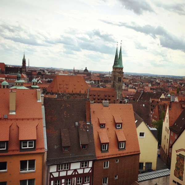 Orange roofs in Nuremberg | Schwabach With A Local | Germany | The Travel Medley