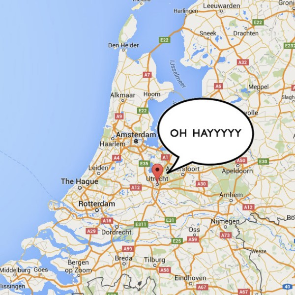 Utrecht saying OH HAYYYY | The Netherlands | The Travel Medley