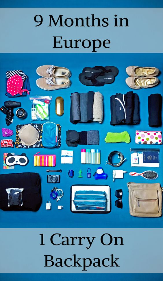 What's in Bri's Bag?   Women's Lightweight, Longterm Packing List in a 30L Carry On Bag   The Travel Medley
