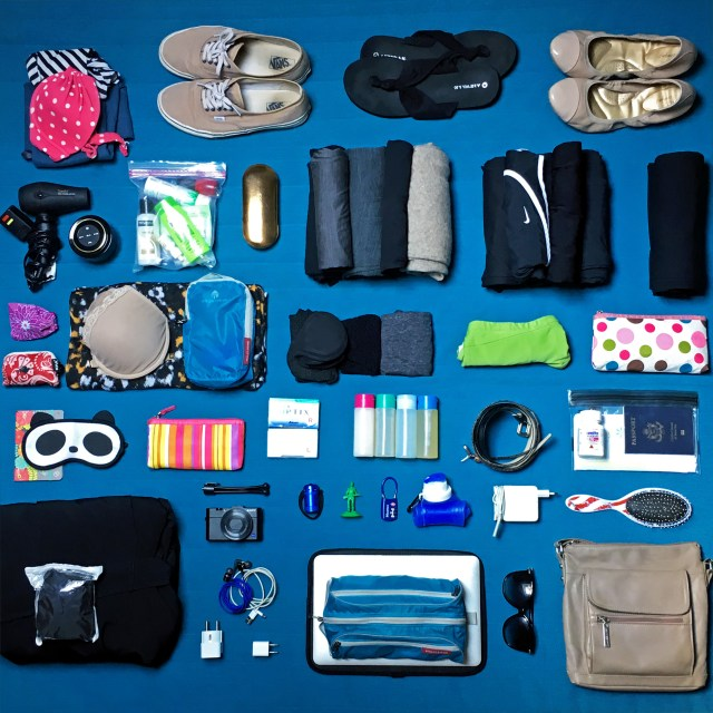 What's in Bri's Bag? | Longterm Travel in a 30L Carry On Bag | The Travel Medley
