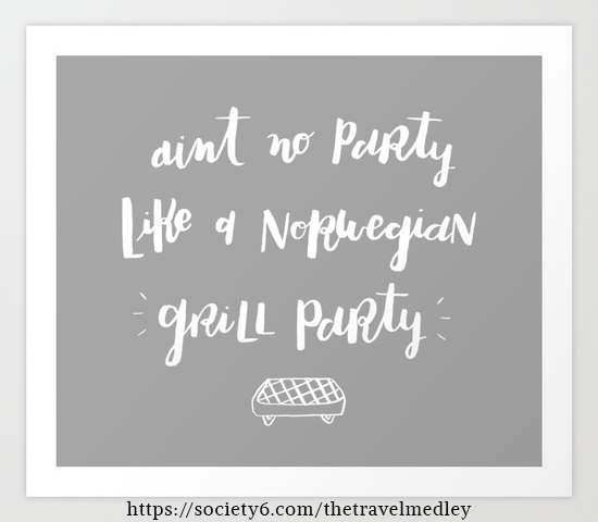 Ain't No Party Like A Norwegian Grill Party! | The Travel Medley