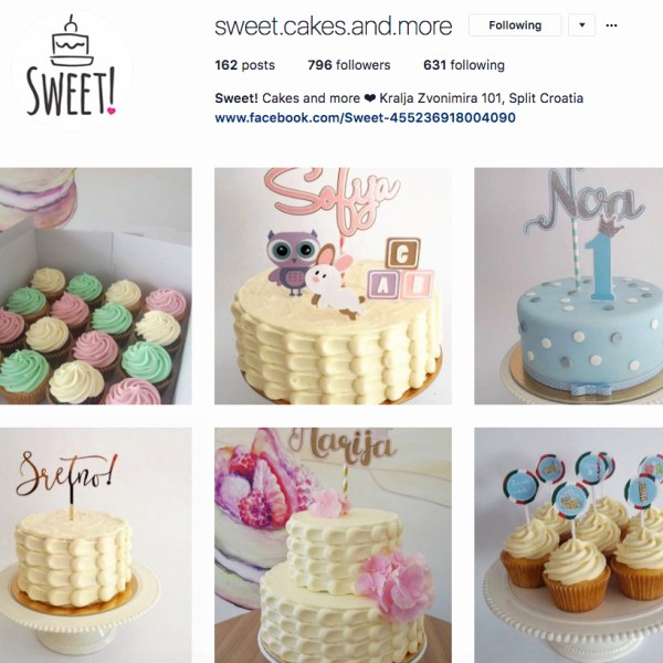 Sweet Cakes and More | Split, Croatia | The Travel Medley