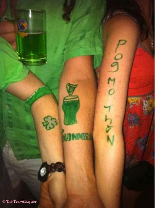 irish tattoos st patricks day siem riep thetraveloguer