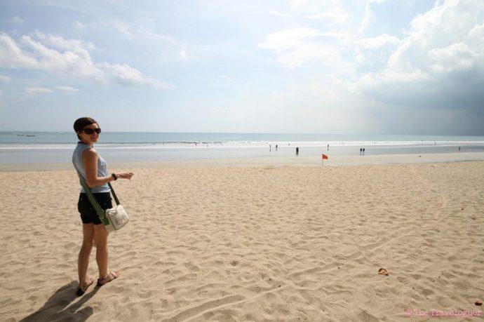 Bali Beach the traveloguer
