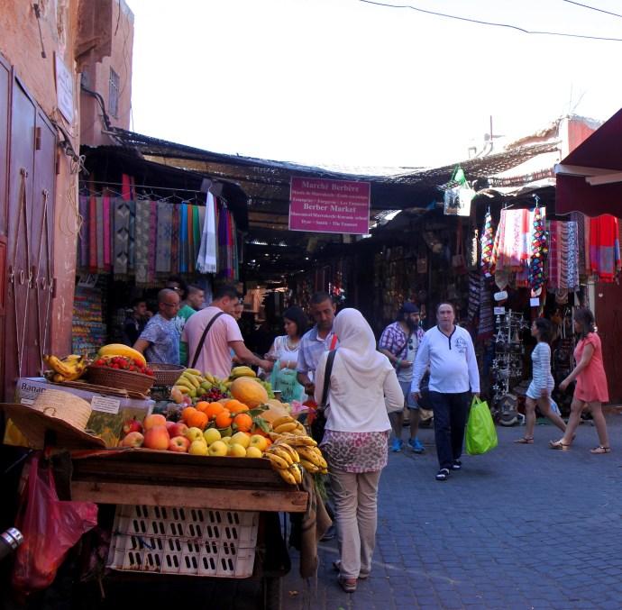 souks of marrakech - the traveloguer travel blog