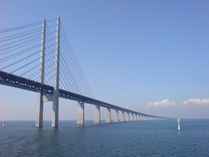 Oresund bridge copenhagen to malmo