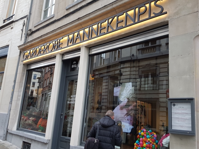 Manneken Pis Museum, the Garderobe Manneken Pis in Brussels, Belgium