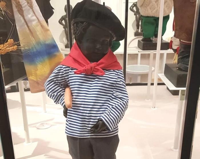 French Costume in the Manneken Pis Museum, the Garderobe Manneken Pis in Brussels, Belgium