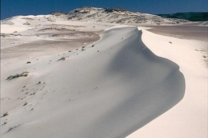 The Sinai Desert in Egypt
