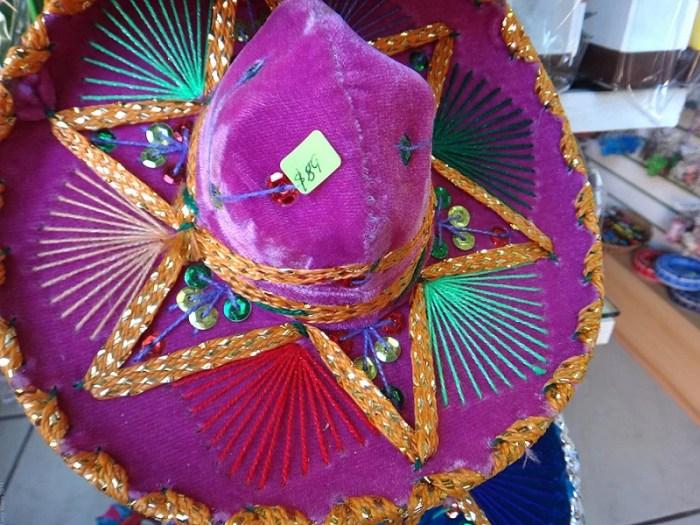 Hat for sale in a souvenir shop in Merida, Yucatan, Mexico