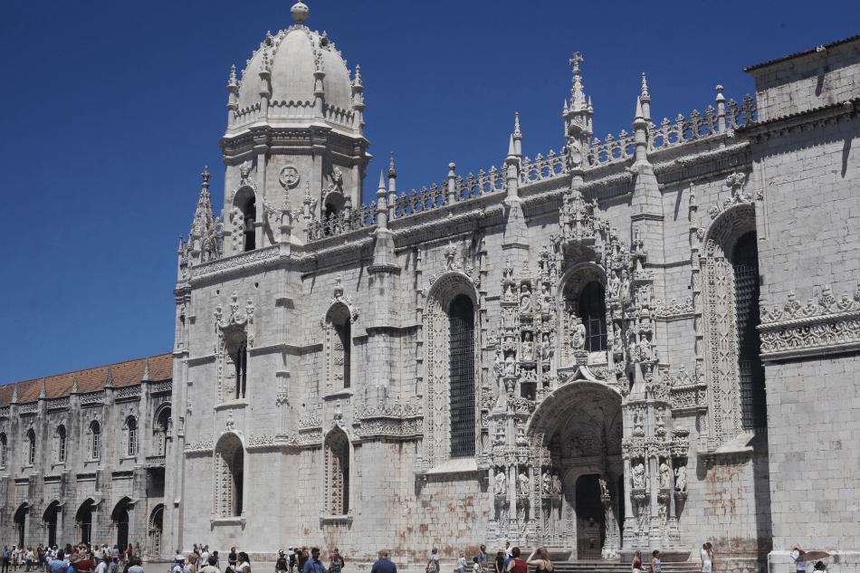 Mosteiro de Jeronimous in Lisbon