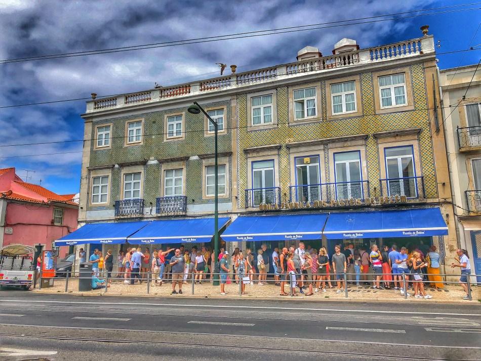 Pasteis de Belem cafe, photo by Dom Nemer