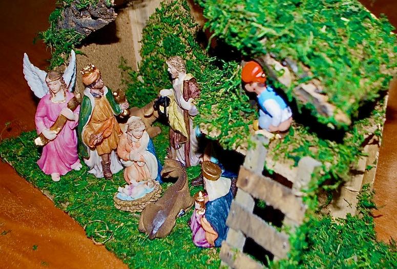Catalan Nativity, Caganer