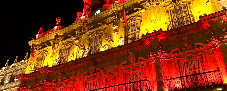 Spain, Salamanca Town Hall Photo by Dom Nemer